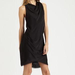 Helmut Lang Mercury Drape Dress